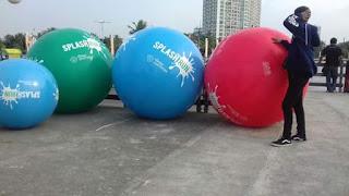 balon bentuk bolat bola aneka bentuk dan ukuran
