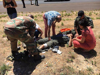 South African air force (saaf) oryx crashes