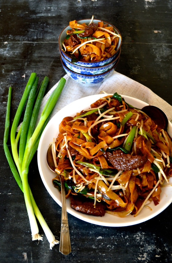 Chinese Recipes Beef Chow Fun Noodles Gon Chow Ngau Ho