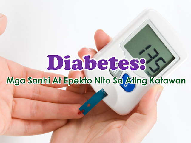 Diabetes or diabetes mellitus, as doctors refer to, is basically a medical condition where a person has high concentration of blood sugar or glucose in the blood due to inadequate supply of insulin or the cells do not properly respond to insulin in the body. In this article, we will find out what causes diabetes and what this disease actually do to our body.  Carbohydrates when ingested to the stomach are broken down to glucose or sugar. glucose is needed by our body to supply us the energy we need. These glucose then move to the bloodstream. the body detects that the blood glucose number is rising. The pancreas then starts releasing the hormone called insulin. Insulin help us absorb the energy from the food we eat. Both insulin and the glucose are delivered to the part of the body which needs energy through the bloodstream. Sponsored Links Diabetes has two types, both with similar symptoms such as frequent urination, thirst, tiredness, thrush or itchy genitals, blurred vision, and weight loss.  In type 1 diabetes which about 10% of diabetes cases, the pancreas do not produce insulin at all due to unknown condition. The glucose that is taken by the body through bloodstream  is not properly delivered to the muscle cells due to lack of insulin and starts building up in the blood elevating the blood sugar lever. The body is trying to eliminate the excess glucose through urination, hence, people with diabetes tend to urinate a lot. The condition could be reversed once the patient is treated with insulin.  Type 2 diabetes is different. On this type which 90% of people with diabetes has which commonly affects people with ages 40 and above for western people and 25 above for Asians. The symptoms are very minimal that it may take 5 or even 10 years before the person could feel its effects in the body and they could live seemingly normal before the diagnosis.  On this type, the pancreas is producing enough insulin but the cells are not able to supply to the muscle cells due to fat build-up. it blocks the insulin and causes high concentration of glucose in the blood. It can be corrected through weight loss and healty diet. Medications can also help but it is a lengthy process and medicines are quite expensive as it is a progressive condition.