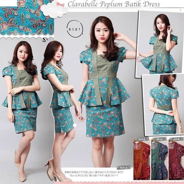 Agen Baju Batik Modern Toko Baju Kita Produk Terbaru 01