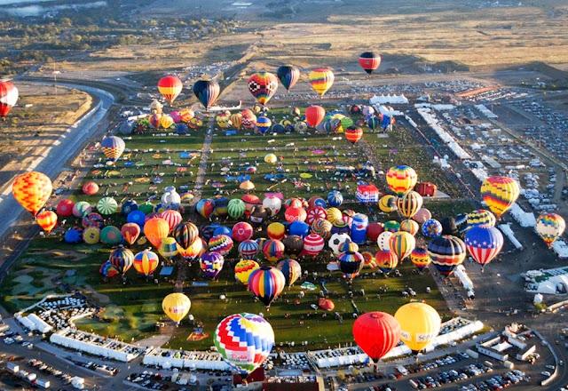 Maior festival de balonismo do mundo