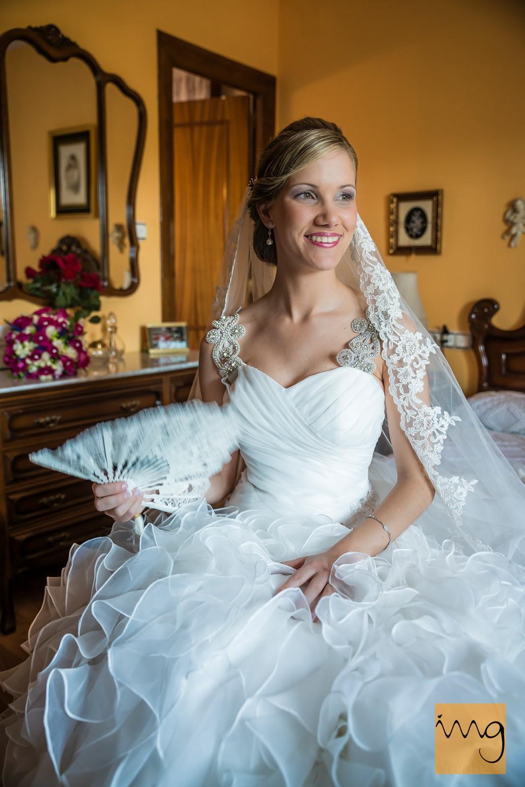 Foto de la novia preparada para su boda