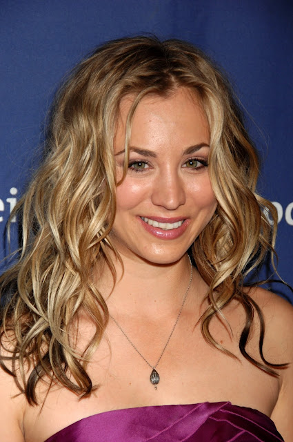 All About Hollywood Celebrity Kaley Cuoco Hairstyle Pictures
