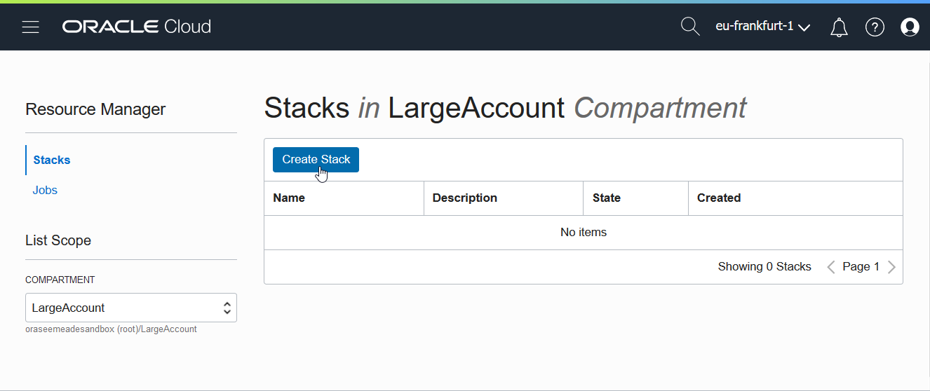 Arnes Tech Stuff: Use Terraform in the Oracle Cloud with Stacks