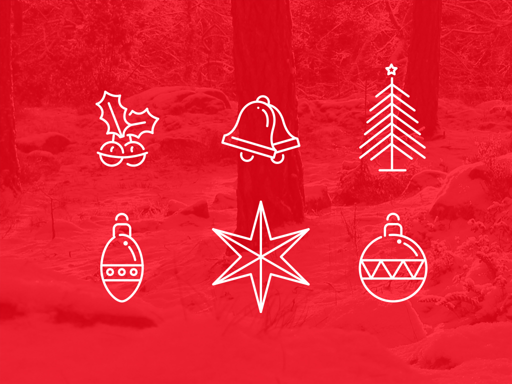 Christmas Iconography.Free Psd Goodies And Mockups For Designers 70 Awesome Xmas