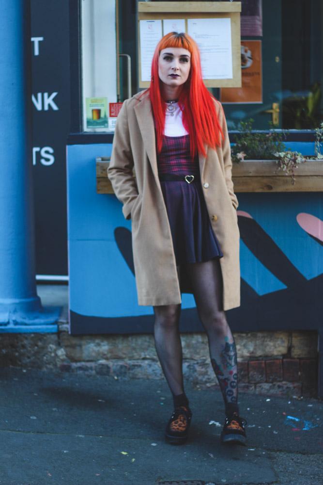 Alternative Style Blogger Foxxtailz in Fearless Illustration