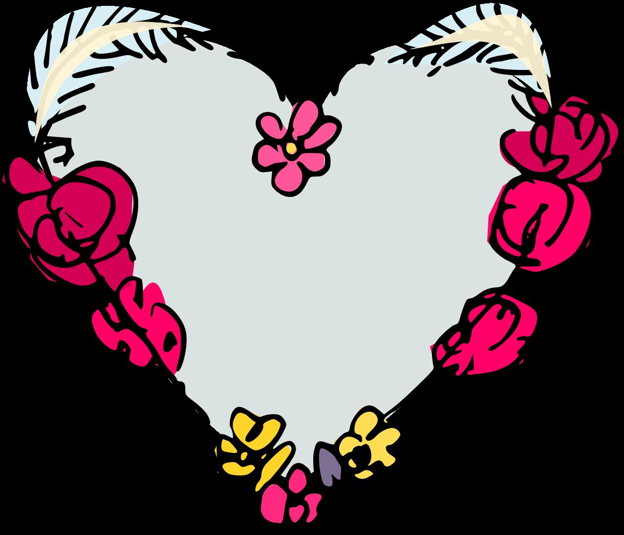 free digital heart scrapbooking embellishment in tattoo ...