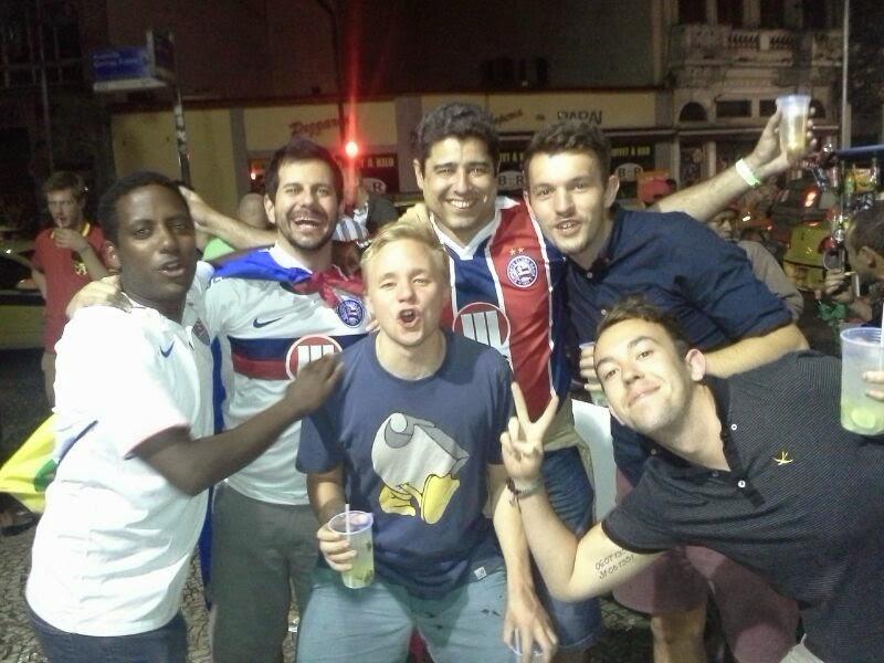 Festa na Lapa, depois da final - Rio de Janeiro - Copa do Mundo Brasil 2014
