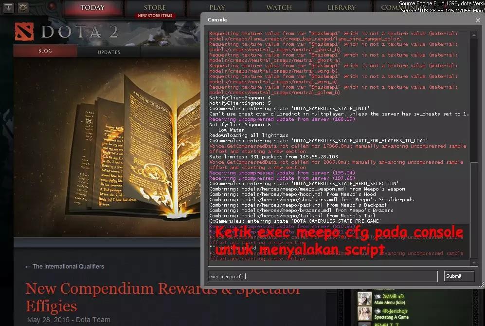 Hello: How to use macro script meepo