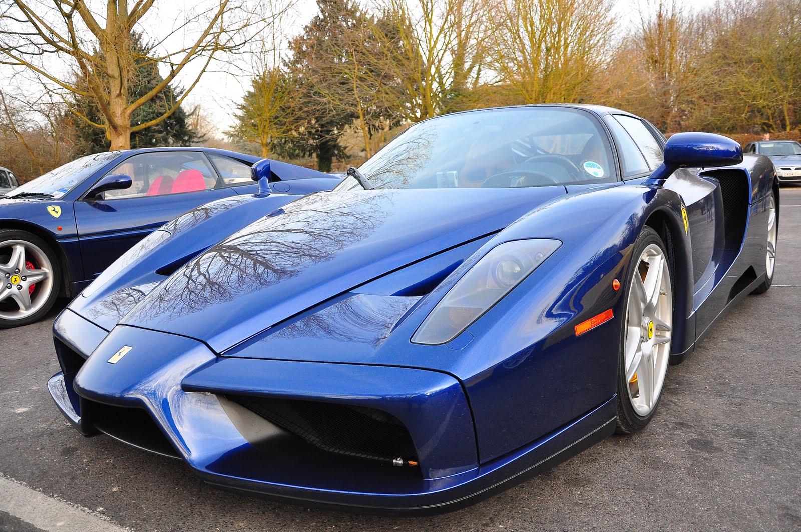 Club 4 Buzz Blue Ferrari
