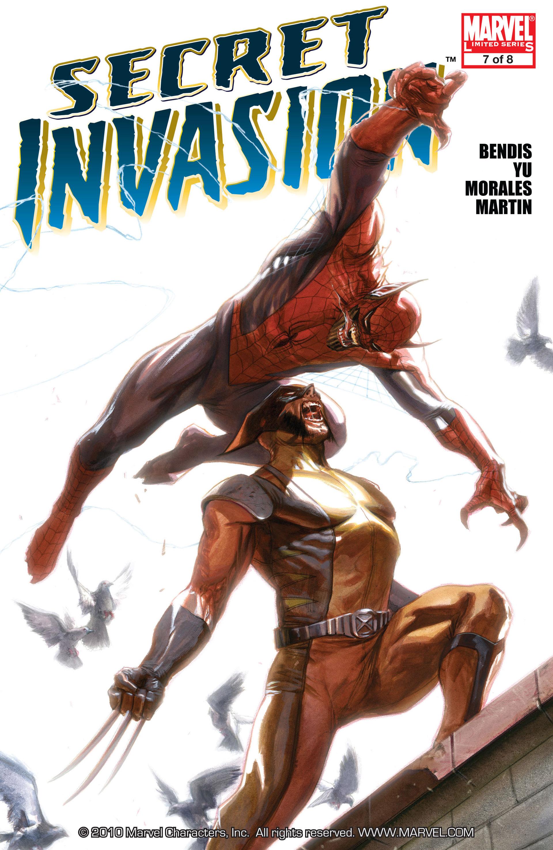 Read online Secret Invasion comic -  Issue #7 - 1