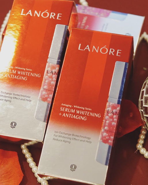 LANORE WHITENING AND ANTIAGING SERUM