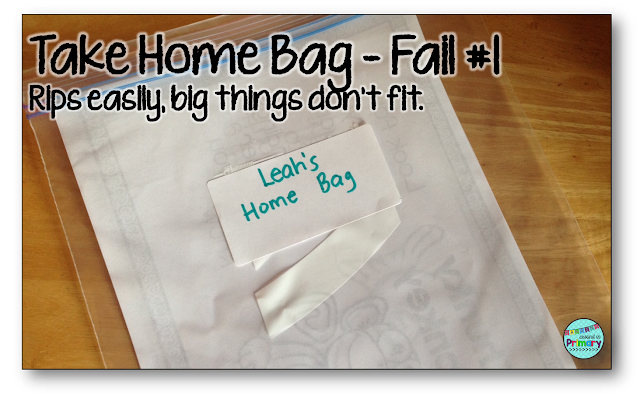 using mailbags to manage home - school communication