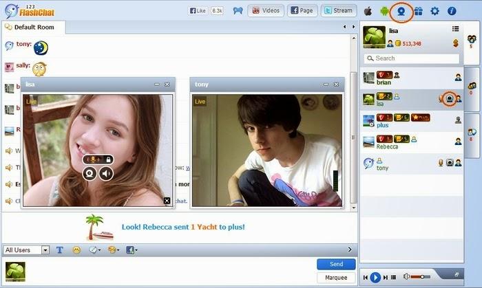 ChatSpin: бесплатное приложение для видеочата