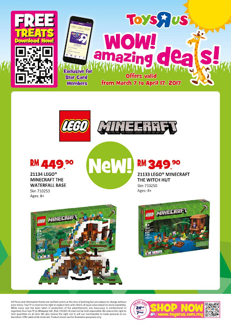 "Toys ""R"" Us Malaysia WOW! Amazing Deals Discount"