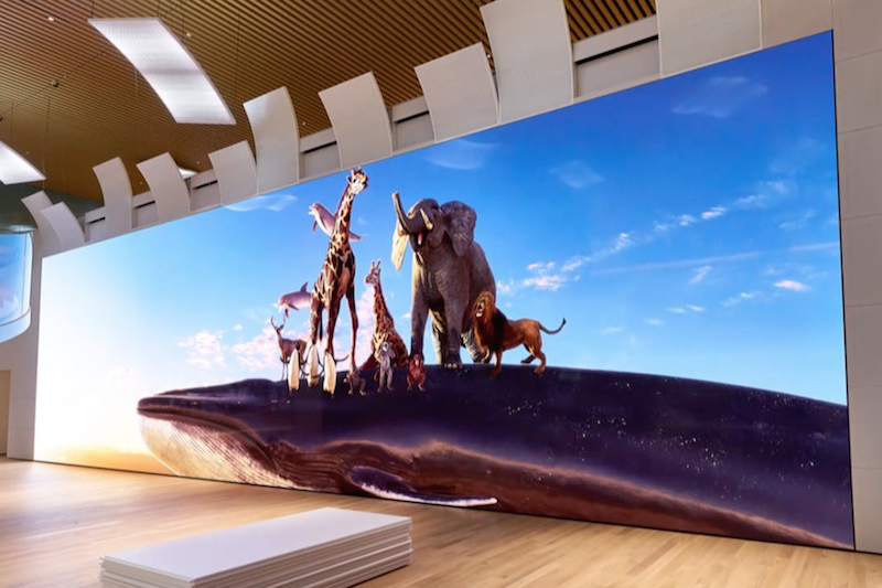 Sony launches a GIANT 16K Crystal LED TV screen in Japan