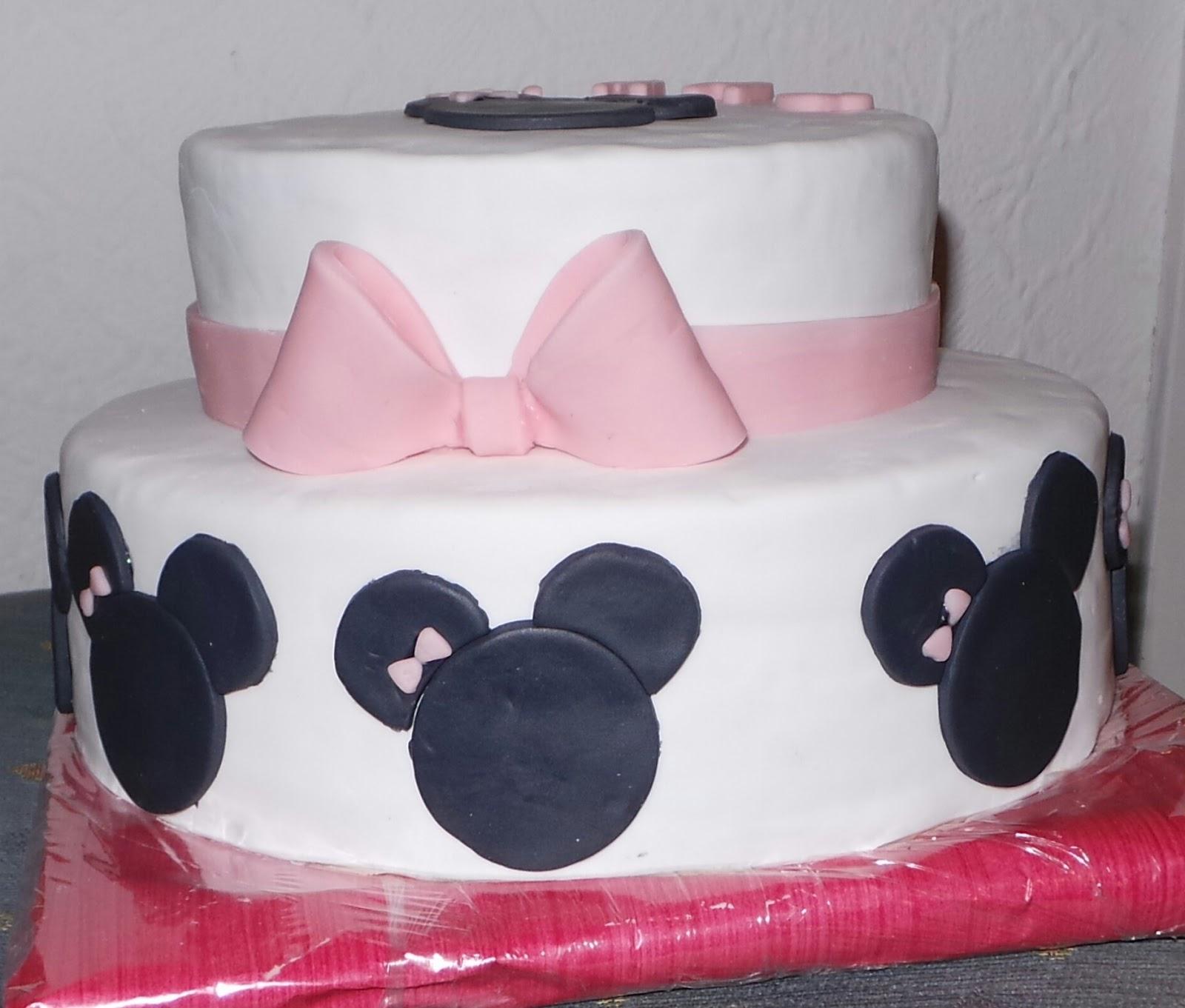 Sandy\'s Kitchendreams: Mini Maus Regenbogen-Kuchen