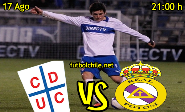 Ver stream hd youtube facebook movil android ios iphone table ipad windows mac linux resultado en vivo, online: Universidad Católica vs Real Potosí