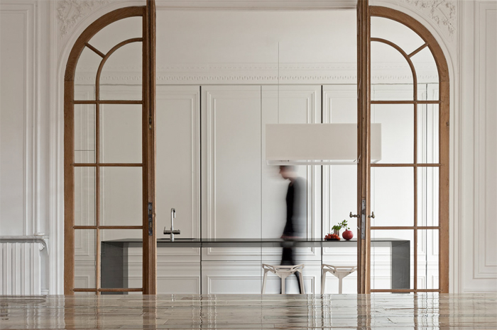 Barcelona Wall Cabinets In A Kitchen