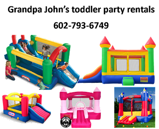 bounce house rentals for 1 & 2 year old children|toddlers