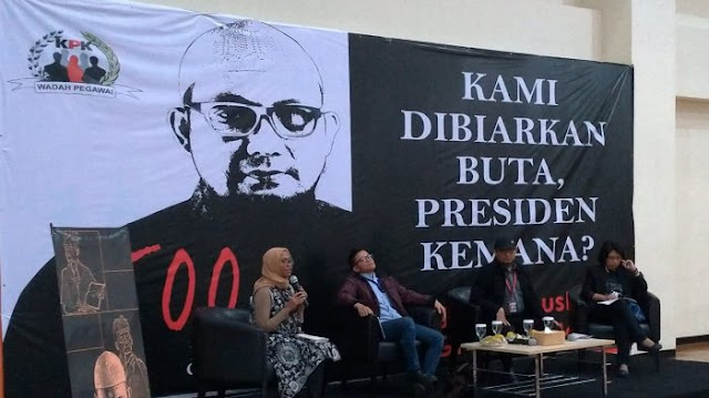 500 Hari Kasus Novel, KPK: Pelaku Belum Terungkap, Netizen: Teroris 3 Menit Bisa Diungkap