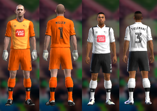 PES 2013 Derby County Kit Season 2016/17