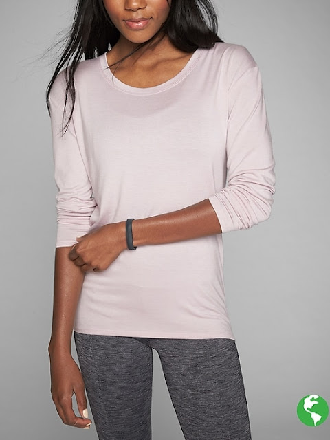 athleta threadlight-layering-ls