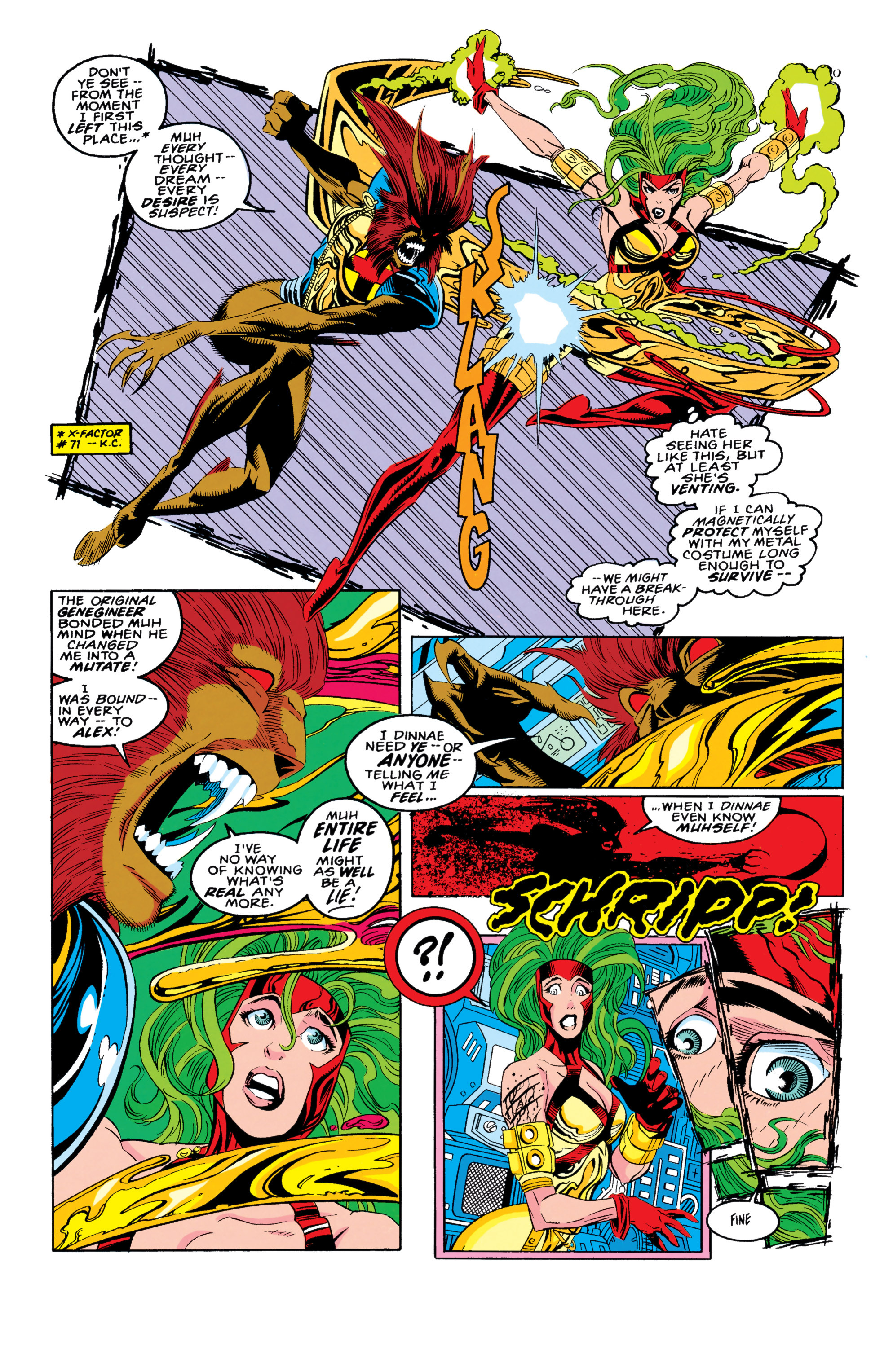 Read online X-Factor (1986) comic -  Issue #90 - 4