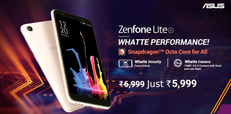 Asus ZenFone Lite L1 Wiki & Review