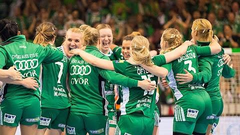 Női kézilabda BL - A norvég Vipers lesz a Győr ellenfele az elődöntőben