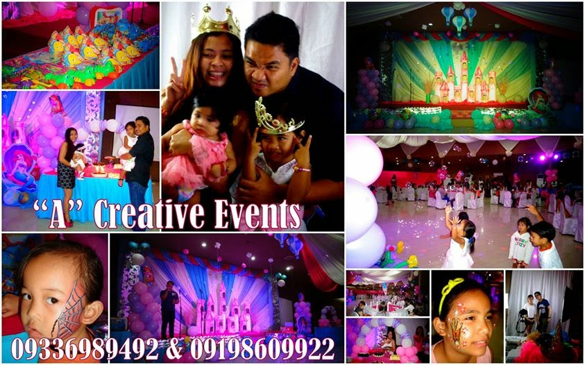 Ariel The Little Mermaid birthday party theme davao city