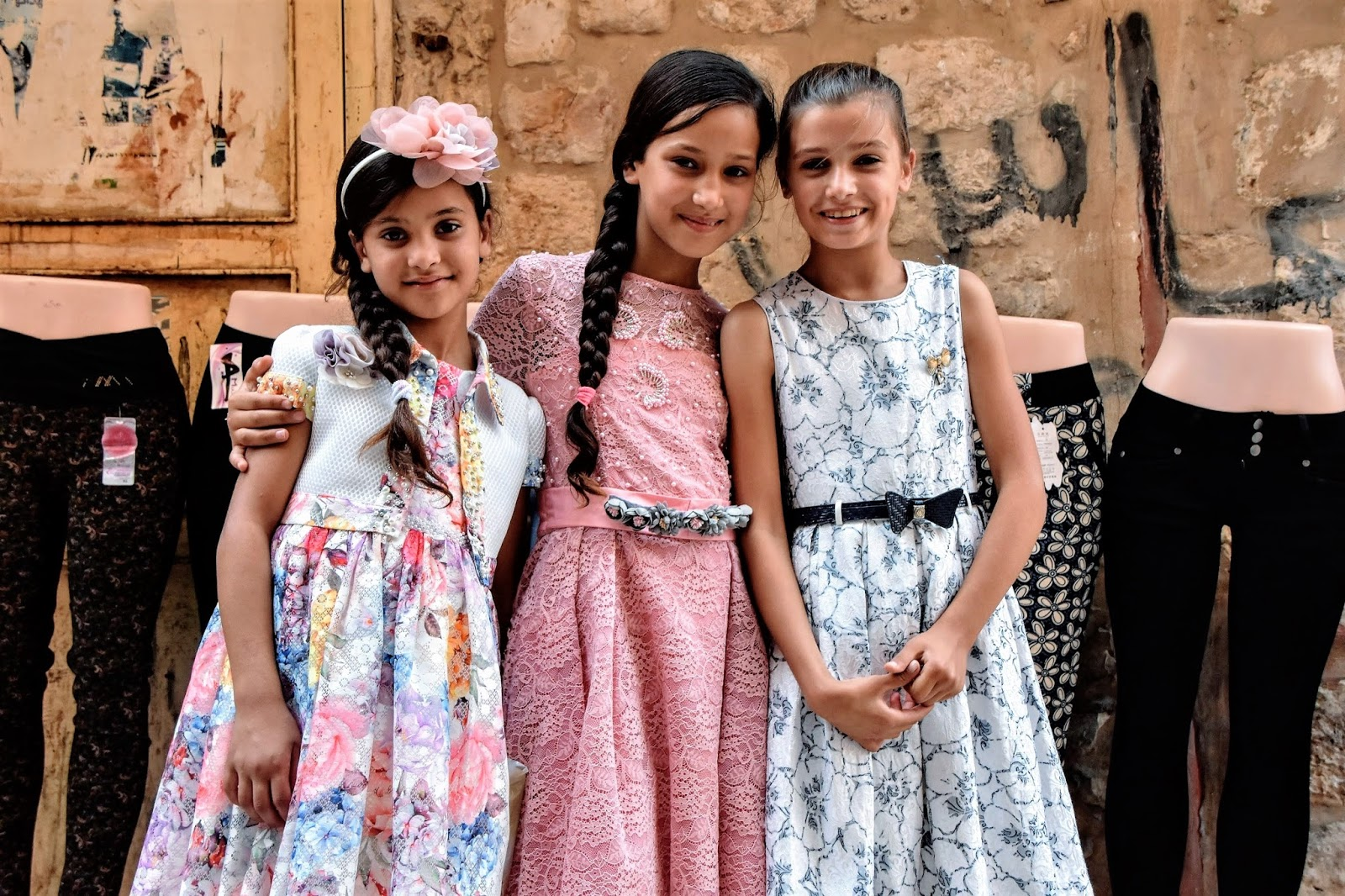 My sweet palestinian young ladies | people on my way