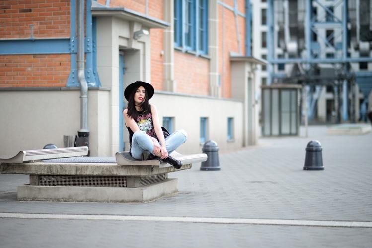 sesja zdjęciowa blog modowy EC1 Łódź