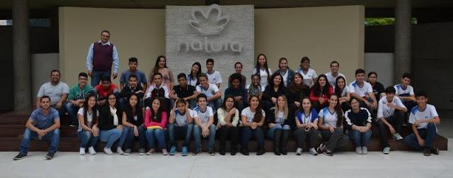 Alunos da ETEC de Registro-SP fazem Visita Técnica à fabrica da Natura em Cajamar-SP