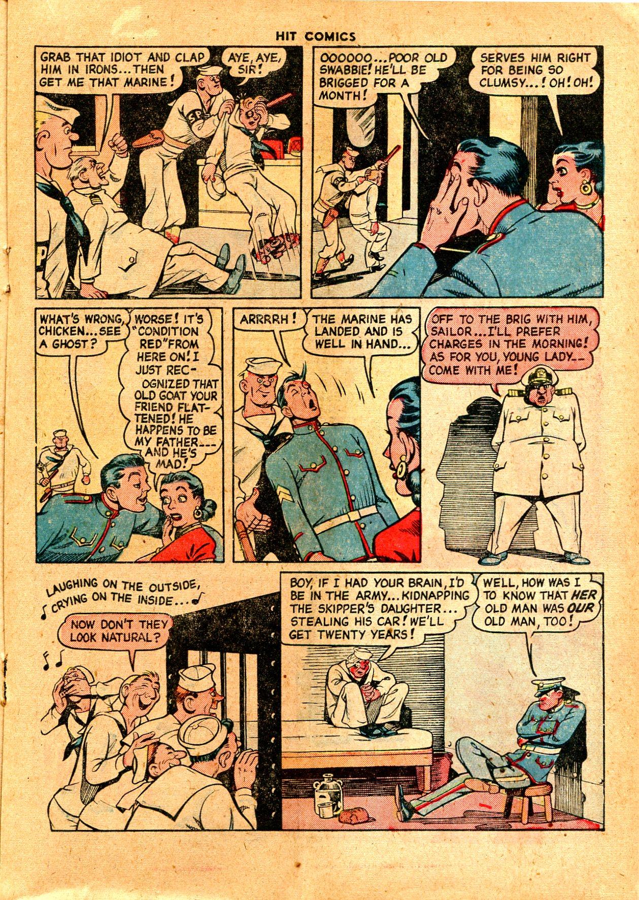 Read online Hit Comics comic -  Issue #57 - 25