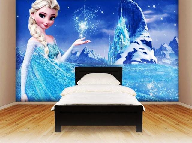 model kamar tidur frozen terbaru