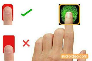 right methodology of fingerprint sensor