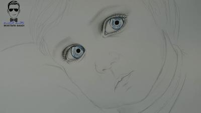تعلم رسم طفل بالصور خطوة بخطوة