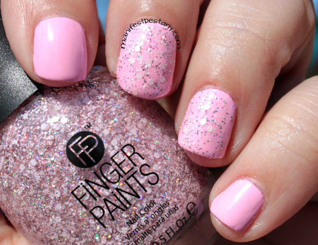 Finger Paints Pastel Rain collection: A Pink of Pixie
