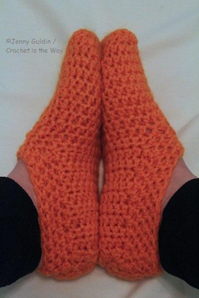 crochet, easy, how to, Red Heart Super Saver, SlipperMania, slippers, Socks, tutorial, Yarn