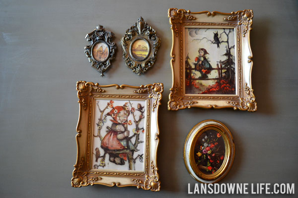 Reusing thrift store picture frames - Lansdowne Life
