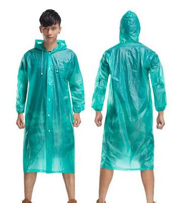 jas hujan plastik murah