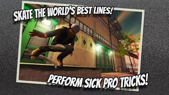 Tech Deck Skateboarding Apk Free on Android Game Download