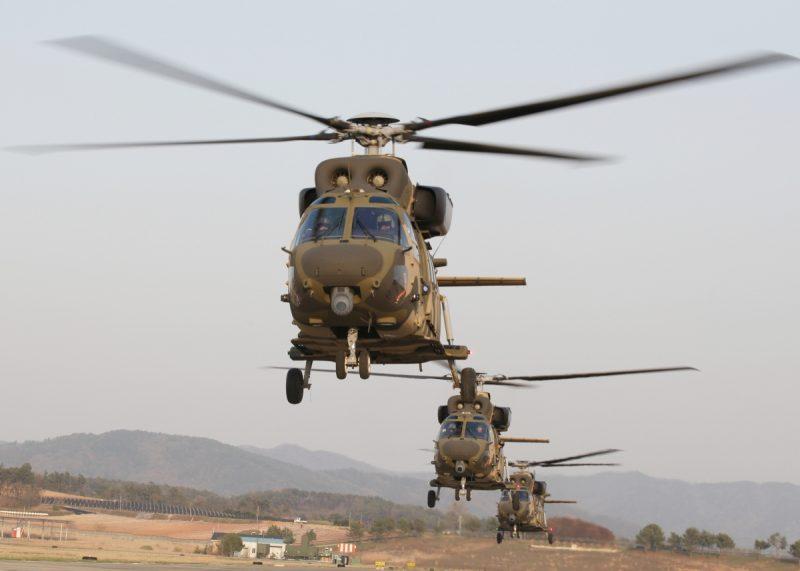 Helikopter Surion buatan Korea Selatan