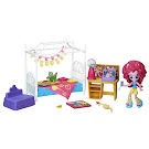 MLP Equestria Girls Minis Sleepover Slumber Party Bedroom Pinkie Pie Figure