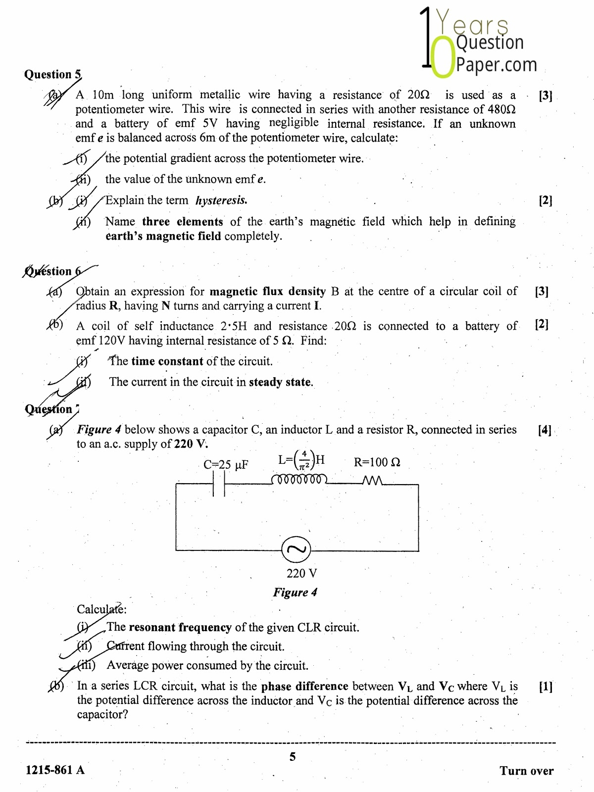 isc 2015 class 12th Physics question paper