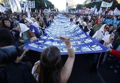 Argentinos marcharán para repudiar el último golpe de Estado