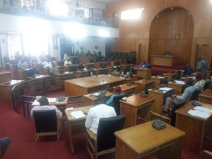 PLENARY: Anambra Legislators express worry over erosion in Osumenyi
