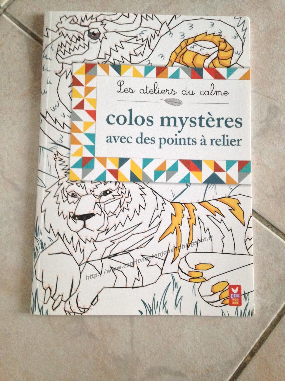 Des coloriages myst¨res avec des points  relier pour ma maxi chouquette 7 ans de chez Deux coqs d acheté chez Cultura Les chiffres vont jusqu  plus